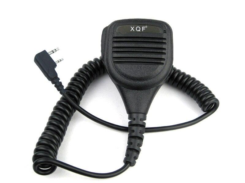 XQF сверхмощный микрофон PTT IP54 Водонепроницаемый для Kenwood Baofeng HYT Hytera двухстороннее радио UV-5R TK-3302 BF888S