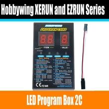 Scheda Programma Hobbywing RC Auto Box Programma LED 2C 86020010 Scheda Programma Per XERUN e EZRUN Car Series Brushless ESC