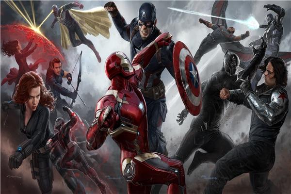 Lienzo personalizado, arte Pantera Negra, cartel de Marvel, papel tapiz, Superhéroes, pegatinas de pared, pegatina de Iron Man, pegatina de Capitán América #2900 #