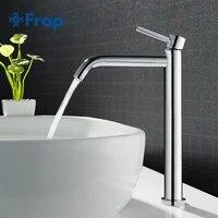 Frap robinet de lavabo de grande taille  pour la salle de bains robinetterie mince pour leau chaude et froide du lavabo robinetterie unique pour la salle de bains Y10122 23