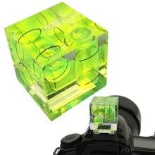 Universele 3-Axis Hot Shoe Vaste Waterpas, 3D Waterpas Voor Canon/Nikon/Pentax DSLR Camera