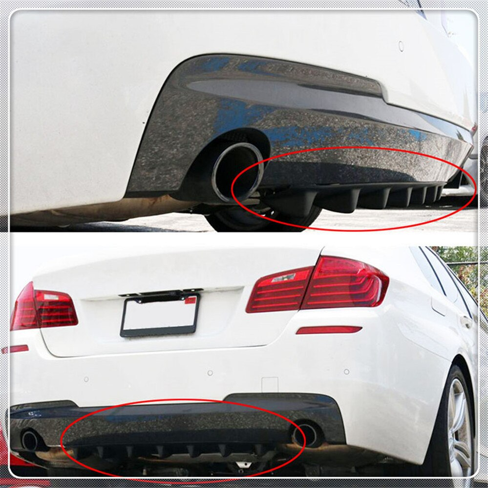 Aleta del difusor de aire del labio trasero del coche para Ford Focus MK2 MK3 MK4 kuga Escape Fiesta Mondeo Ecosport fusión Transit B-MAX