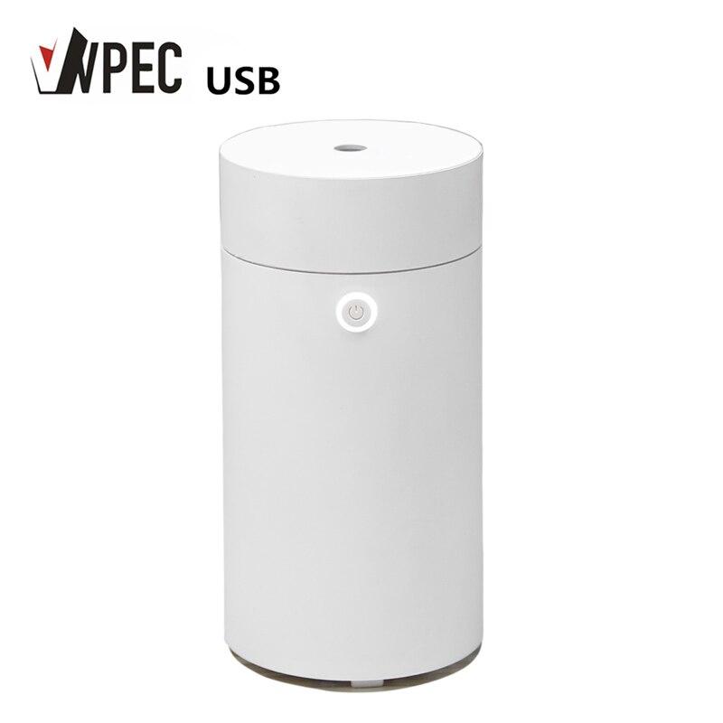 Humidificador de aire ultrasónico USB VVPEC 55ml Mini difusor de Aroma purificador de aire Humidificador taza para el hogar Coche Oficina