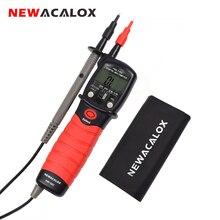 NEWACALOX stylo Type multimètre numérique compteur de tension ca/cc portable rétro-éclairage résistance Diode testeur de capacité outil de mesure