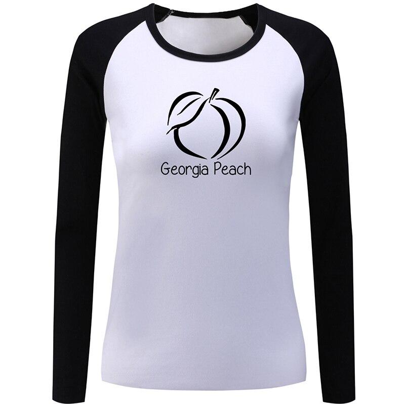 Georgia Peach Girl Snow Boarder, diseño de Granada, buena chica con capucha, lista de reproducción para mujeres, señoras, impresión, camiseta gráfica, camisetas