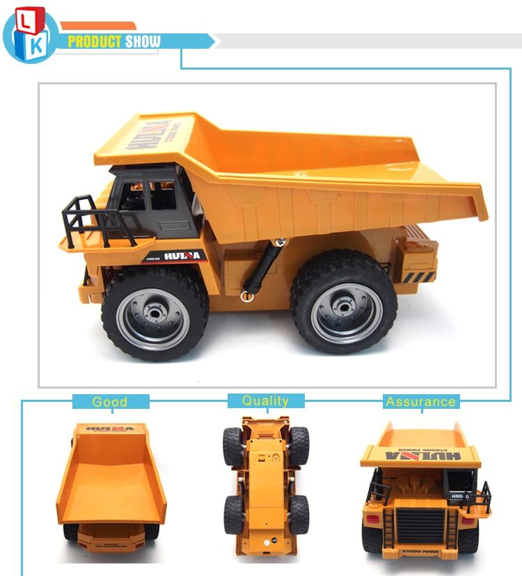 Hot Sale Kids 2.4G Model Car 6 Channels 1:18 Charging mini rc Dump Truck Remote Control Car carro de controle remoto enlarge