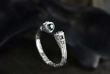S925 Серебряные Ювелирные Изделия Оптом высокого класса экзотический остров Бали стиль ретро в форме сердца полые стерлингового серебра браслет