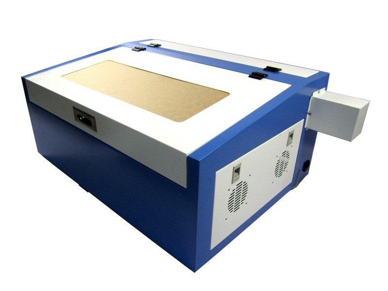 Máquina cortadora de grabado láser de cuero de gran potencia de 50w para manualidades