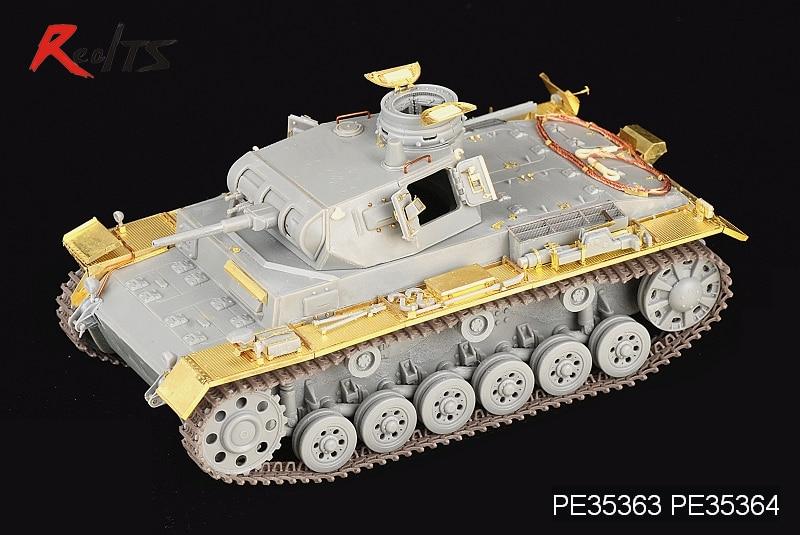 RealTS Voyager model PE35363 1/35 WWII German Pz.KPfw.III Ausf.E/F (For DRAGON Kit)