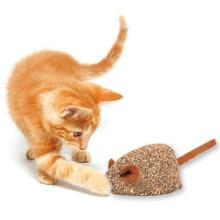 Jouet odeur de menthe pour chats   Jouets souris pour chat, comestible odeur de menthe pour animaux chats, souris non toxique ajouter des vitamines boule de menthe, nettoyer la bouche, produits animaux