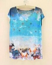 Remise vente femmes hauts mode 2015 été t-shirt états-unis conception femmes t-shirt filles original impression top t-shirt en gros