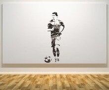 Luis Suarez Muurtattoo Brazilië Voetbal Speler Muurstickers Home Decor Woonkamer Slaapkamer Moderne Mode Muur Poster WW-35