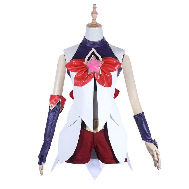 Juego LOL Cosplay disfraz Jinx LOL Star Guardian chica mágica disfraces Cosplay fiesta de Halloween para mujer adulta