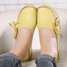 ผู้หญิงแฟลตรองเท้ารองเท้า2021ฤดูร้อนผู้หญิงรองเท้าผ้าใบรองเท้าผ้าใบ Slipony ของแท้หนังผู้หญิงร...