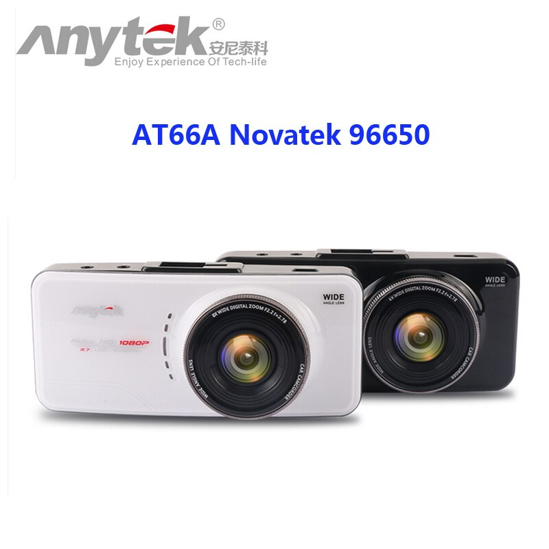 Original Anytek AT66A full HD ar grabadora DVR Novatek 96650 de 170 grados de la lente 6G cena cámara de visión nocturna