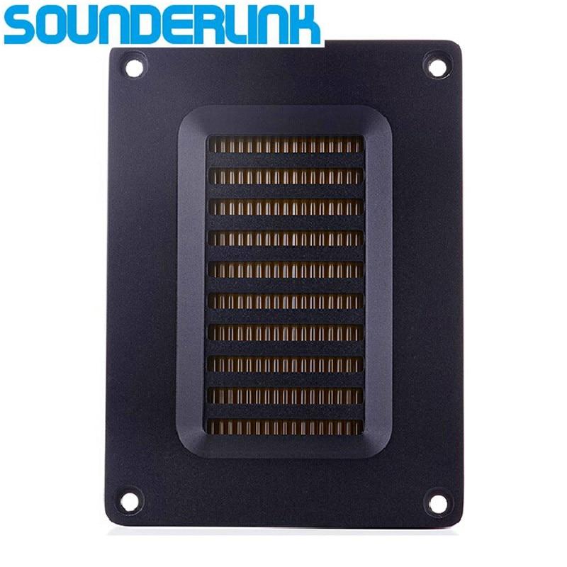 Sounderlink, 1 шт., 60 Вт, высокомощный воздушный твитер, преобразователь, трансформатор, лента AMT, твитер, динамик, полный, Ближний Диапазон