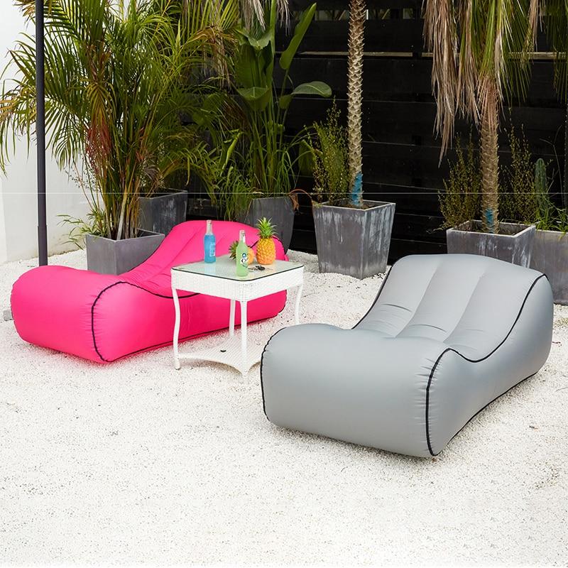 Прямая поставка, Надувное Кресло-мешок диван-наружные пляжные стулья, диван-кровать, садовые диваны