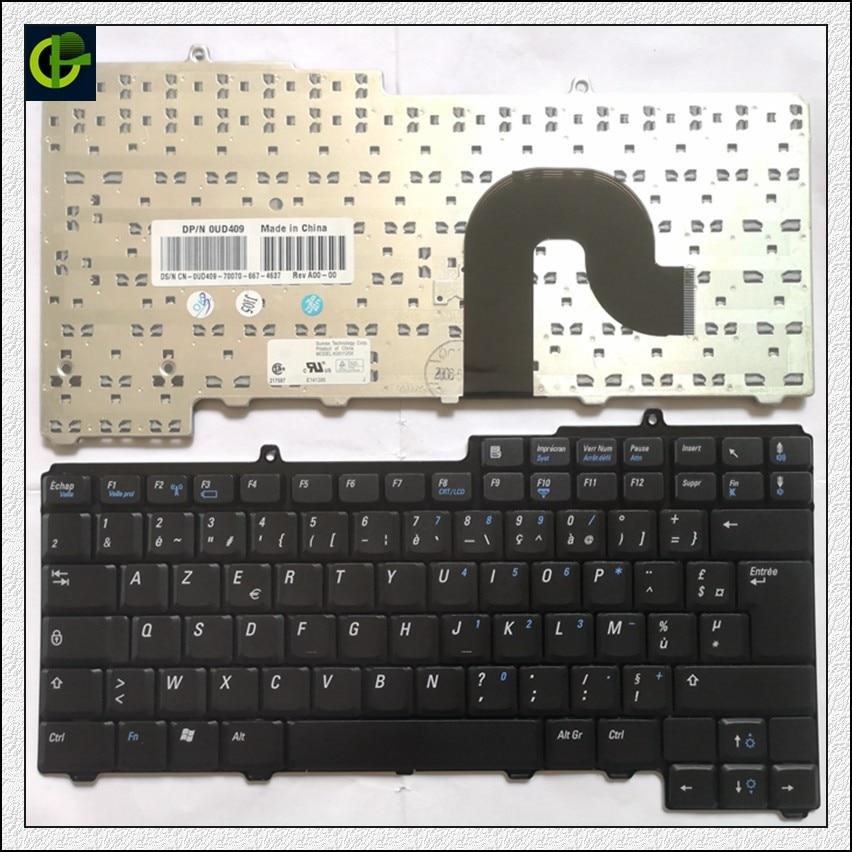French AZERTY Keyboard for Dell Inspiron 1501 1505 630M 640M 6400 PP20L 9400 E1405 E1505 E1705 Vostro 1000 XPS M140 M1710 0FF FR