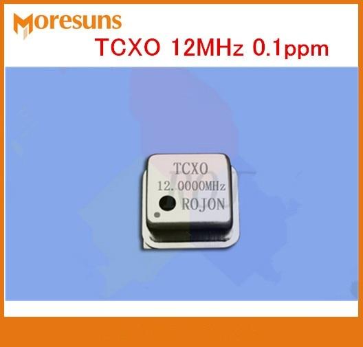 Rápido envío gratis TCXO 12MHz 0.1ppm cuadrado DIP8 alta precisión compensación de temperatura oscilador de cristal
