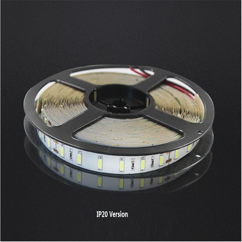 5M/rollo 5630 60led/m 24Vdc 18 W/M IP20,ip65, tira suave ip67, cinta de luz led para decoración, tira de techo, tira de gabinete