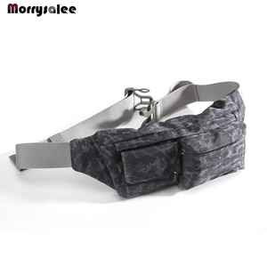 Fashion purse neutral waterproof camouflage chest outside bag multi-function mobile phone bag