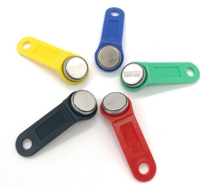 100 قطعة/الوحدة إعادة الكتابة RW1990 iButton TM اللمس الذاكرة استنساخ RFID علامة مكررة مفتاح نسخة بطاقة ساونا مفتاح