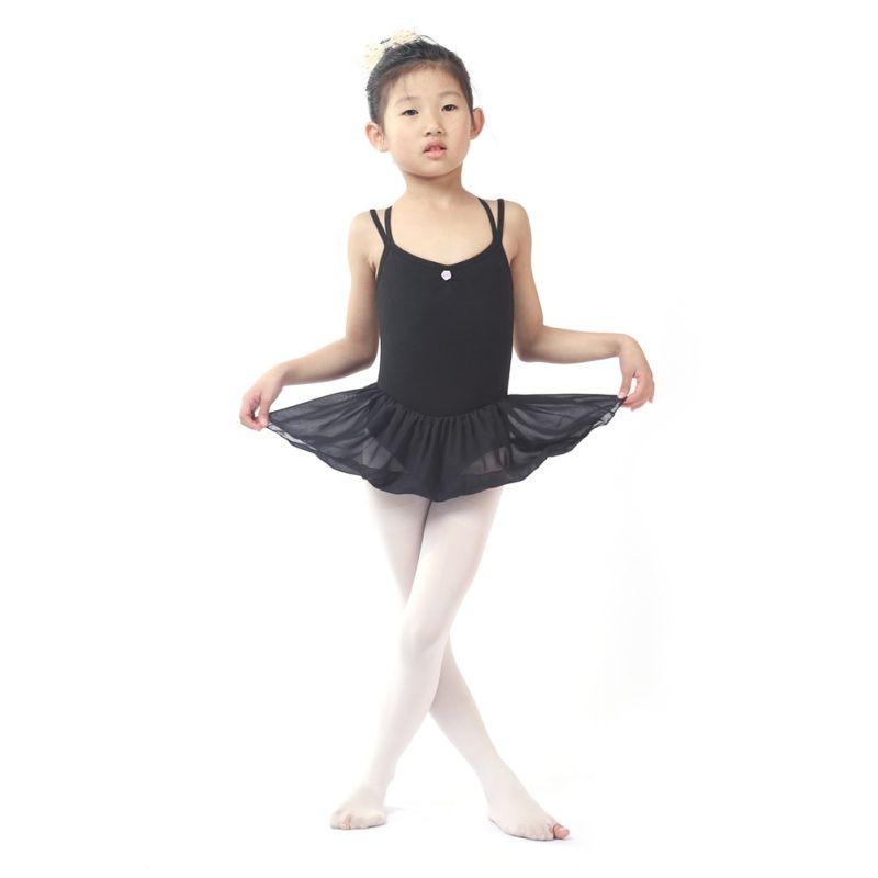 Girl Kids Toddler Ballet Dance Tutu Dress Gymnastics Leotard Dancewear Outfit Dance Wear