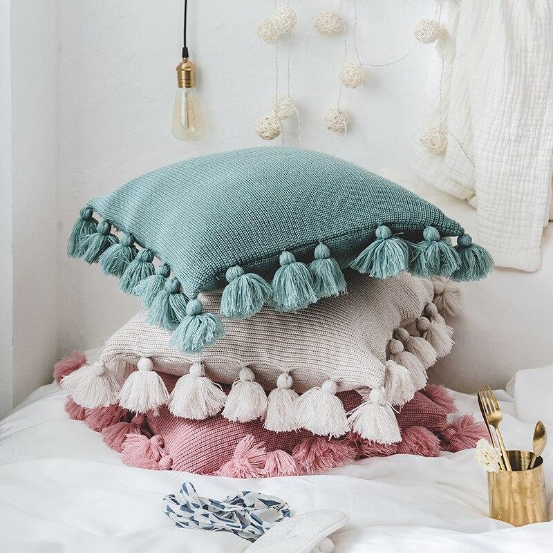 Lantern Ball Cushion Cover Magical Pink Green Gray Throw Pillowcase 45cmX45cm Reversible Pillow Case Sofa Car Home decoration