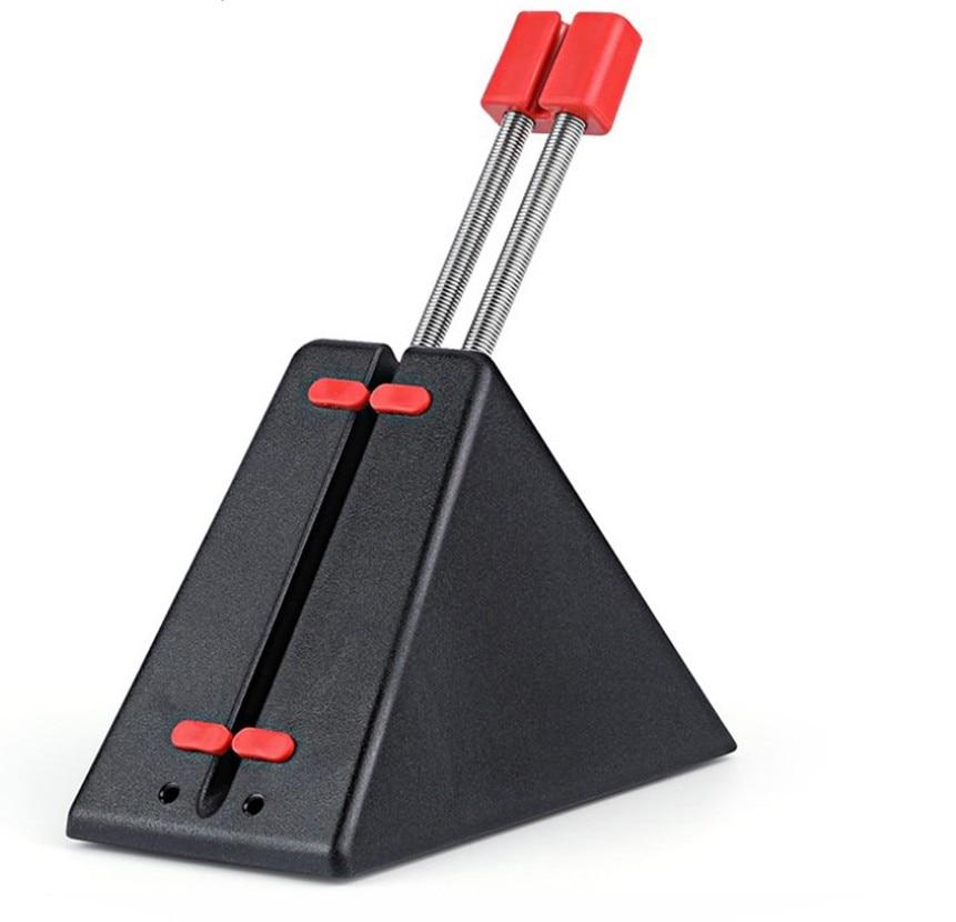 Supporto del Cavo del Cavo di Legare Organizzatore Flessibile Mouse Da Gioco Finale Tagliatore di Linea Fixer Fit Per Filo Del Mouse Gamer