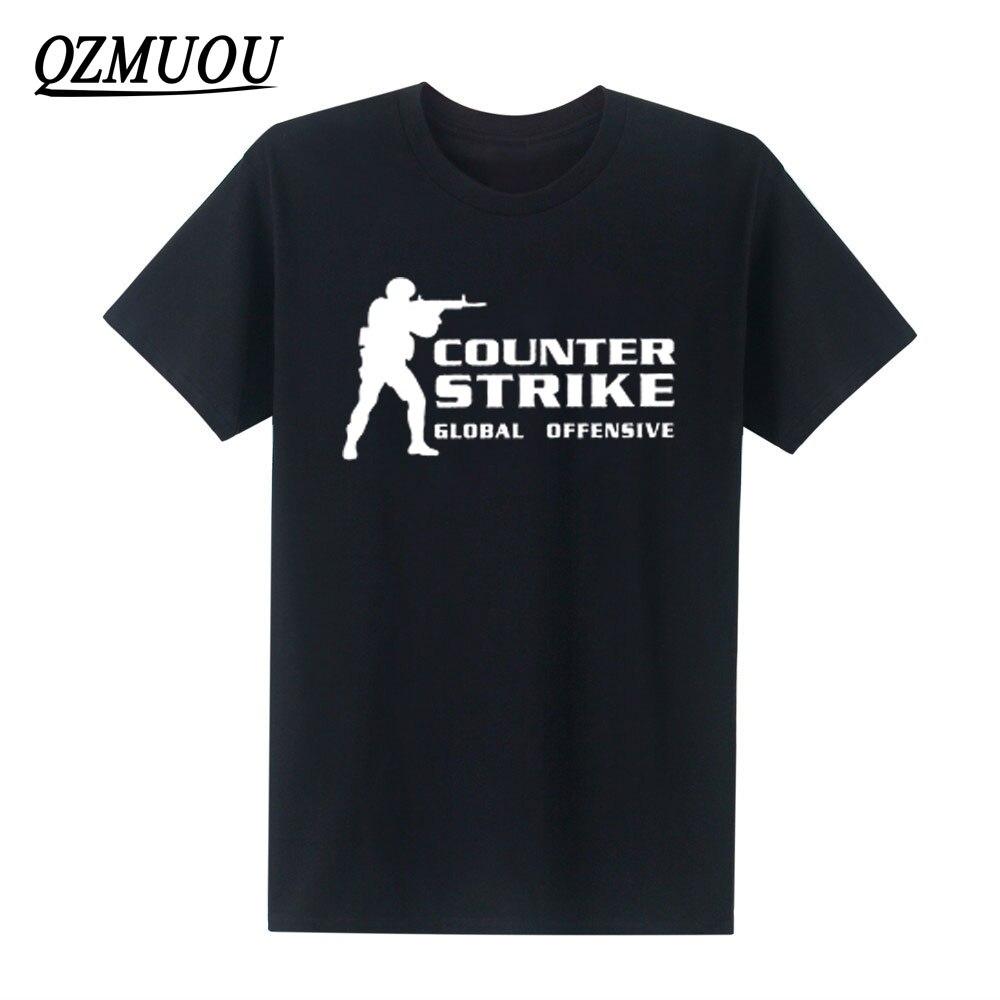 Fahion CSGO Counter Strike Global Cs Gun футболка Fnatic offension футболки для мужчин игровая команда хлопок с круглым вырезом забавная футболка Размер XS-XXL