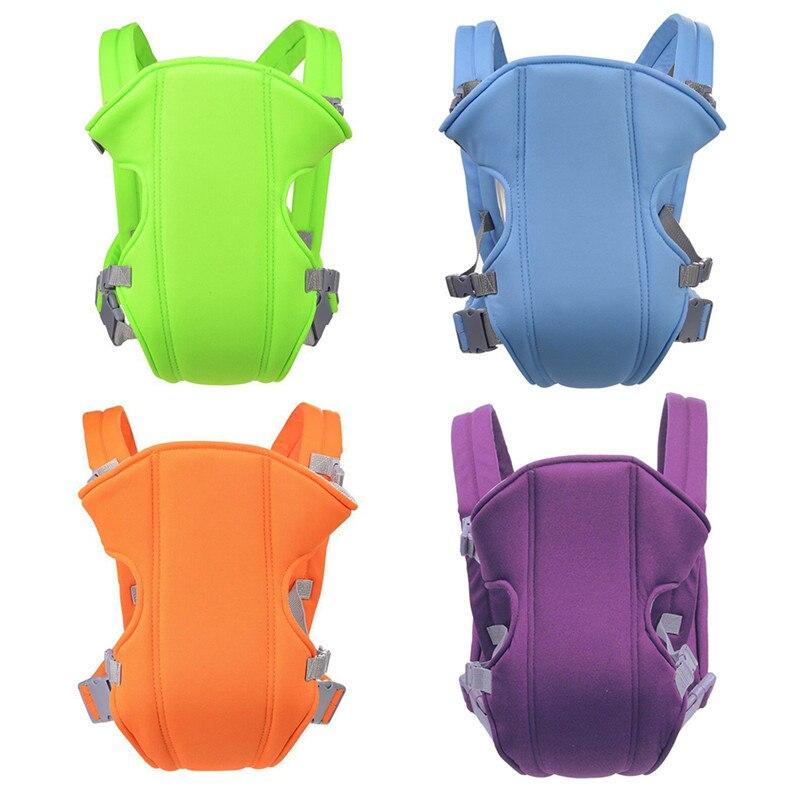 Mochila de tela de malla ajustable con correa de hombro transpirable ergonómica para bebé multifuncional en 4 colores cómoda venta al por mayor