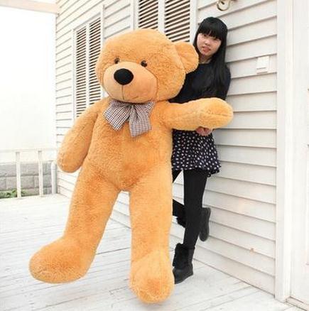 Gran venta de oso de peluche de juguete de peluche de oso de peluche de juguete regalos de gran tamaño 160 cm