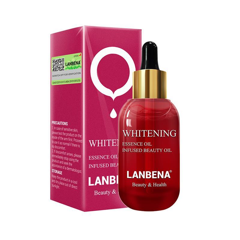 LANBENA Whitening Essential Oil Vitamin C Skin Serum Facial Stain Remover Cream Fade Dark Spots Care Strengthen Anti-Aging