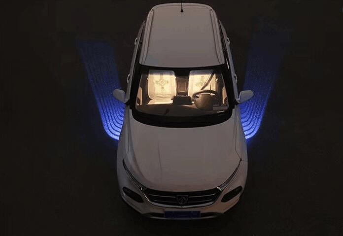 Luces led Qirun decorativas de Ambiente de felicitación, luces diurnas, Luz antiniebla de freno, Faro de marcha atrás, señal de giro para Volvo FE S40 S60 S70 S80 S90