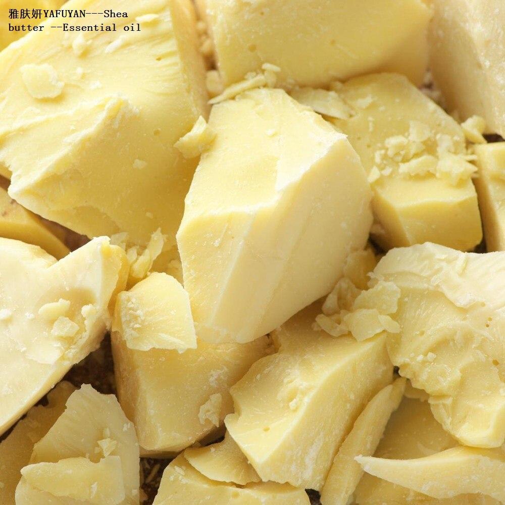 Yafuyan 250 g óleo esential orgânico puro manteiga de karité não refinado fresco importação de áfrica por atacado frete grátis
