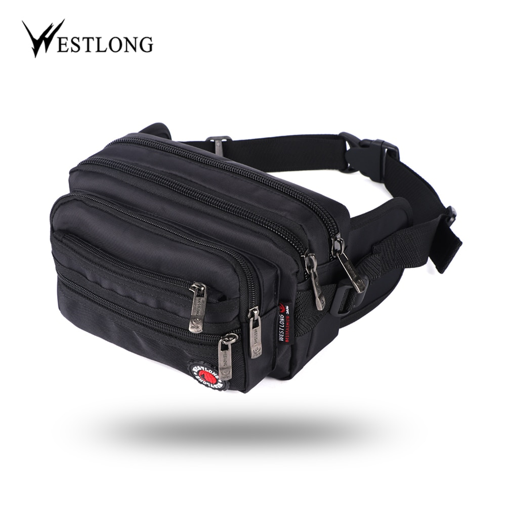 Waist Pack Casual Functional Fashion Men Waterproof Fanny Pack Women Belt Bum Bag Male Phone Wallet