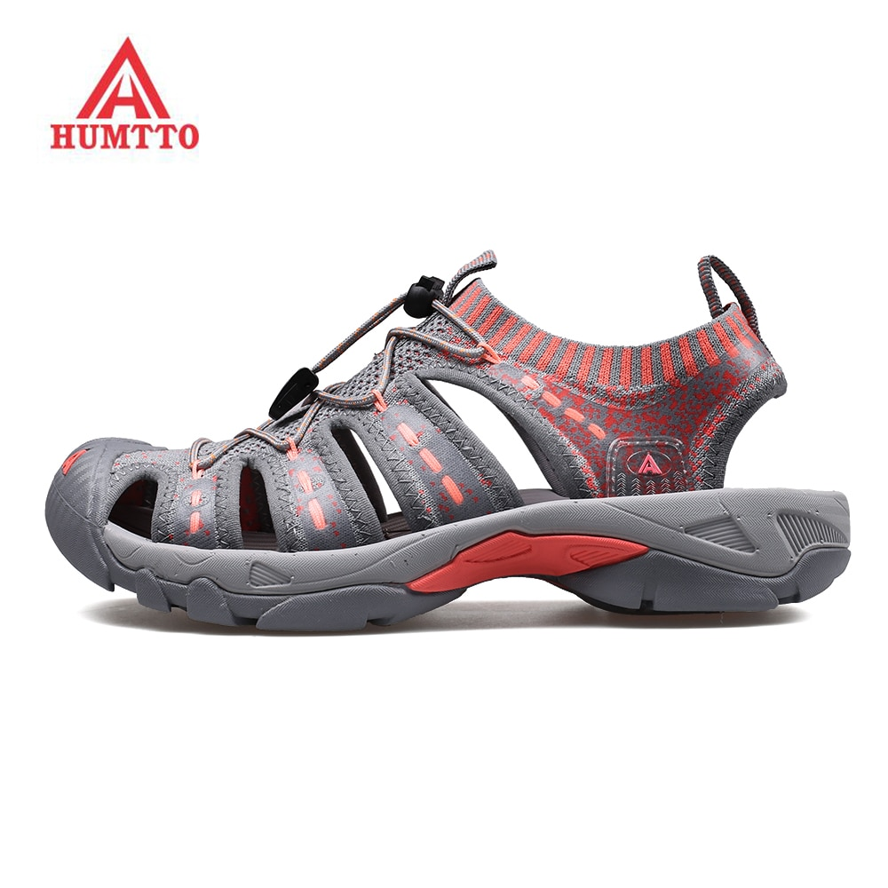 humtto summer men sandals 2021 breathable beach sandals for men's outdoor water mens hiking camping fishing climbing aqua shoes HUMTTO Women's Outdoor Trekking Hiking Sandals Shoes Sneakers For Women Water Beach Aqua Barefoot Shoes Sandals Sneakers Woman