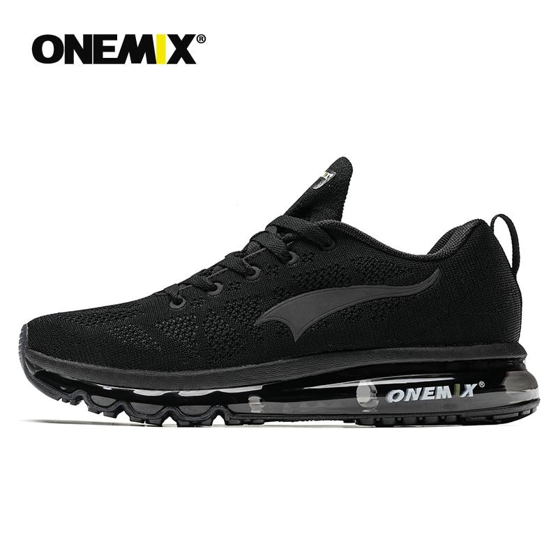 ONEMIX gran venta de zapatos para correr de carretera para hombre zapatillas deportivas transpirables para correr con almohadillas de aire para mujer zapatos para caminar al aire libre