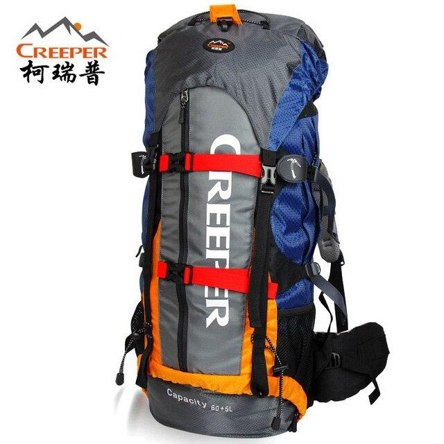 Профессиональный водонепроницаемый рюкзак с внешней рамкой, дорожный ранец для скалолазания, кемпинга, походов, сумка для альпинизма, 65 л, f13