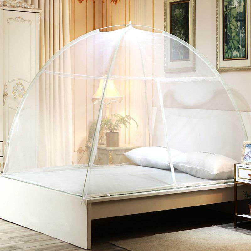 Vários Tamanhos de Cama Cortina de Malha Barato Mongolian Yurt Mosquito Net Estudante Beliche Tenda Adultos Cama de Dossel Cortina Rede Home Textile
