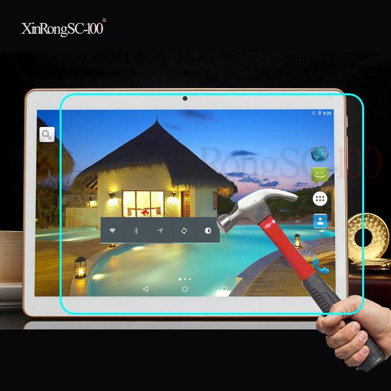 Templado Film de vidrio para protección Protector de LCD para 10,1 pulgadas Teclast X10 Quad core/98 Octa core/X10 3G Phablet/P10/Tbook 10 S Tablet
