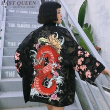 Kimonos japonais traditionnel cardigan kimono femmes 2019 été japonais kimono yukata japonais kimono traditionnel AA3858 Y A