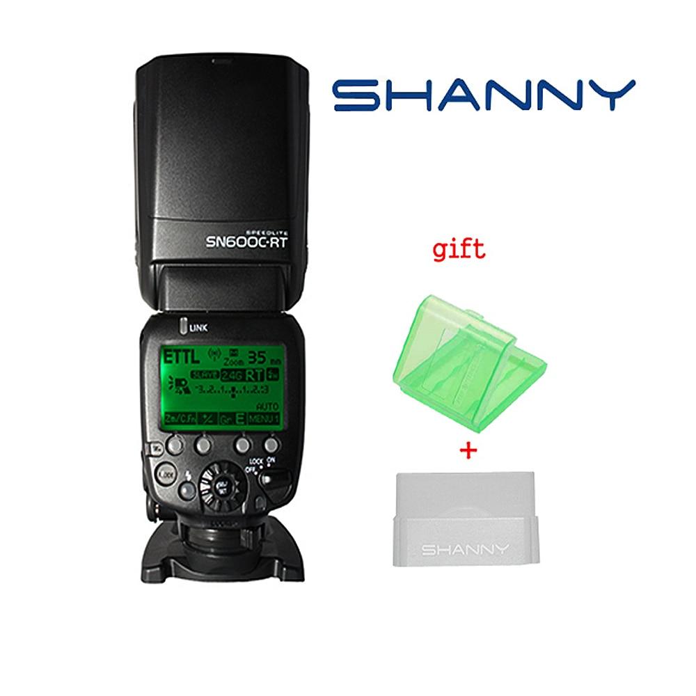 Shanny SN600C-RT Radio inalámbrica TTL esclavo Flash Cámara Speedlite para Canon RT 600EX-RT Speedlite con Radio integrada