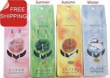 Cinese erbe incenso bastoni, 4 stagioni aroma. Sakura, tè verde, lavanda, rose.11.5cm + 111 pz + 12 min.1 lotto 4 profumi. Venduto separatamente.