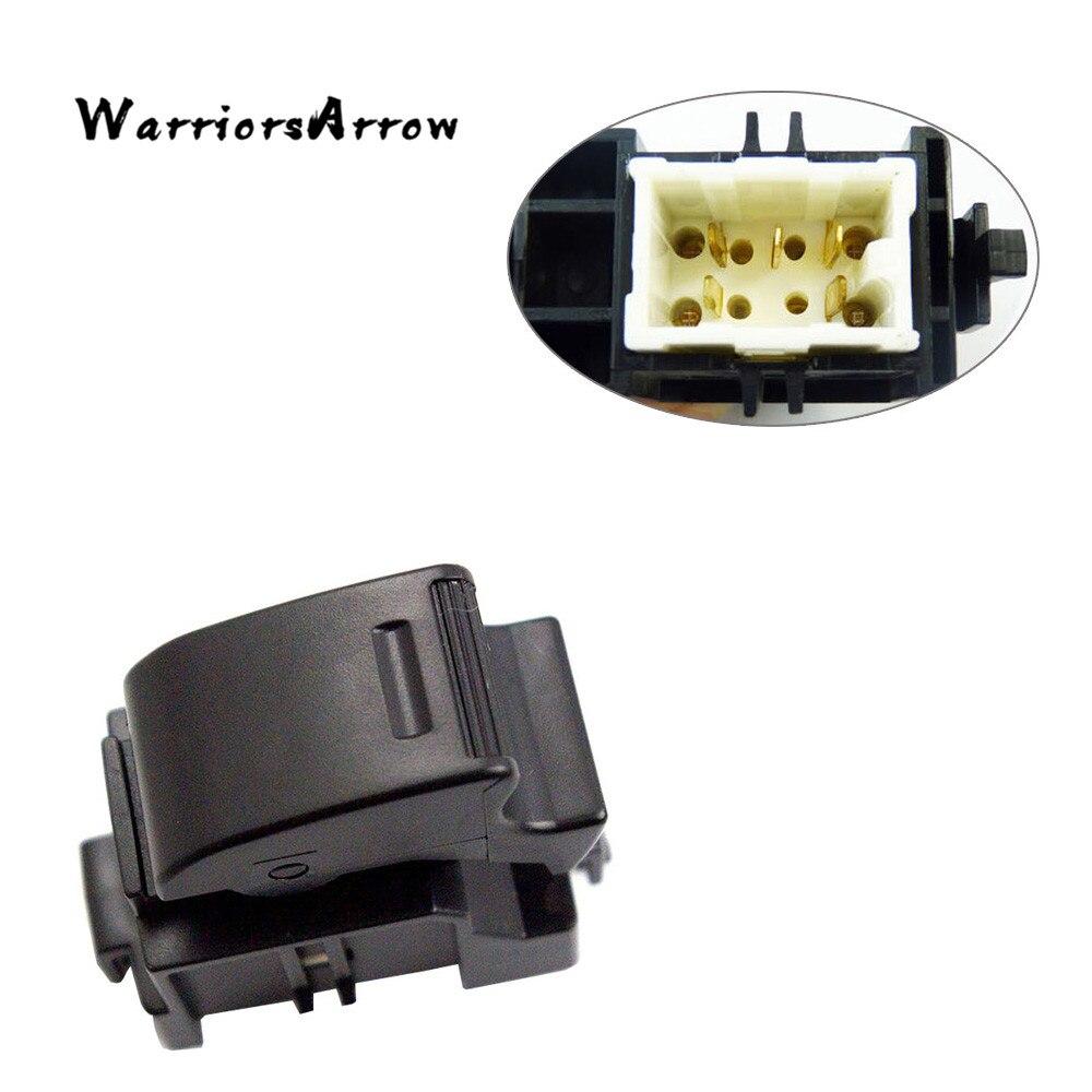 WarriorsArrow Passenger Side Auto Window Control Switch Button For Toyota MR2 Camry 1989-1998 For Lexus LX450 84810-32070