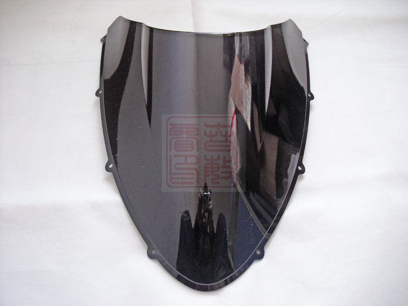 Nuevo para Ducati 848 evo bike, parabrisas para moto, parabrisas negro de alta calidad