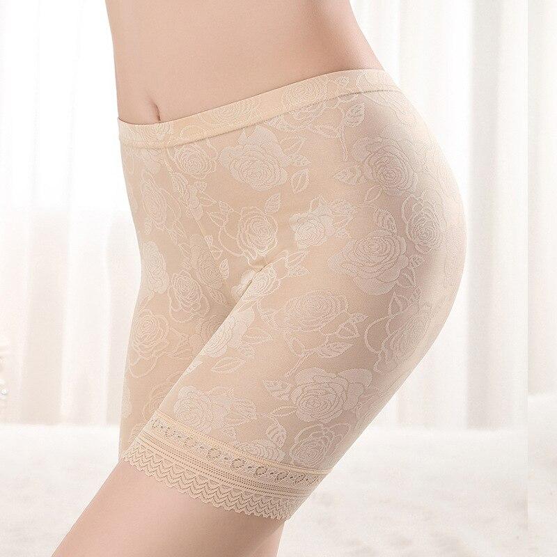 HW50 для женщин размера плюс XL-4XL, кружевные безопасные короткие штаны, нижнее белье, трусы-боксеры, женские удобные трусики, ropa interior femenina
