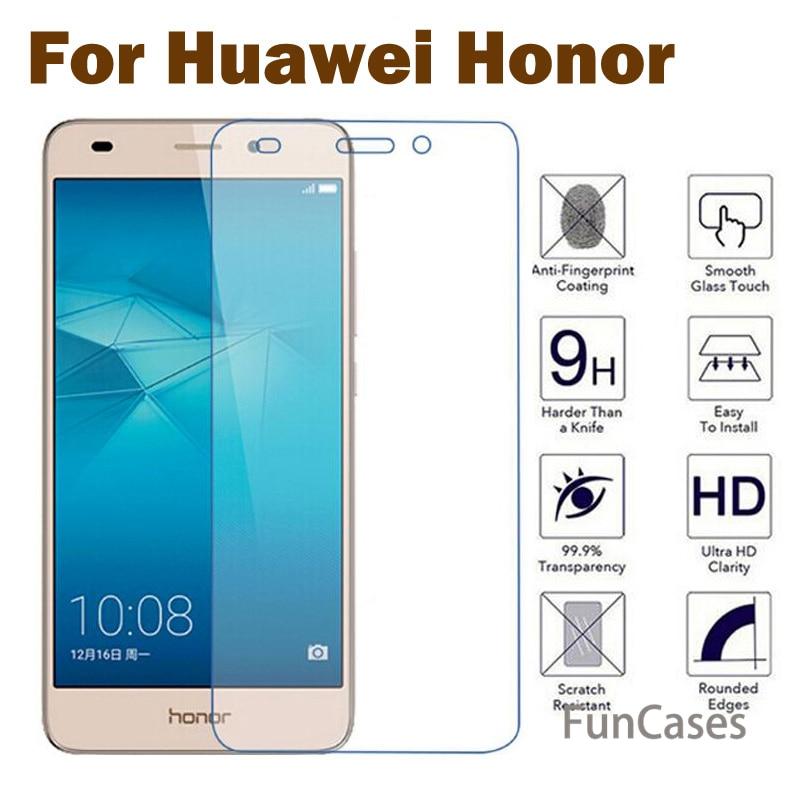 De alta calidad de vidrio templado para Huawei Honor 5C 7 Plus...