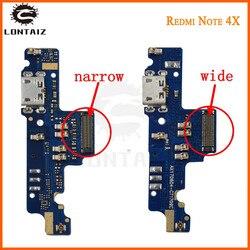 """Original redmi nota 4 usb porto carregador doca plug conector cabo flex note4 para 5.5 """"xiaomi redmi nota 4x porto de carregamento placa"""