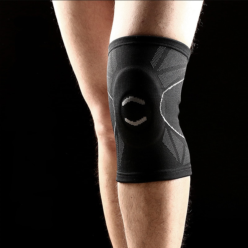 New style 3D weaving knee support built-in EVA foam pad  sports fitness cycling hiking protect brace #sbt17